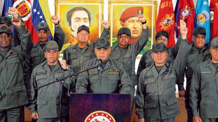 El ministro de Defensa de Venezuela
