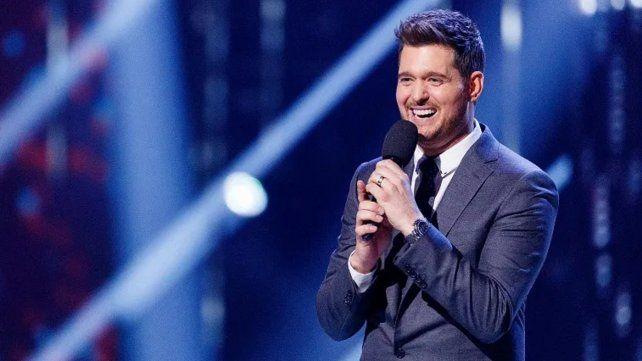 Michael Bublé hizo cantar a un fanático y se sorprendió con su voz