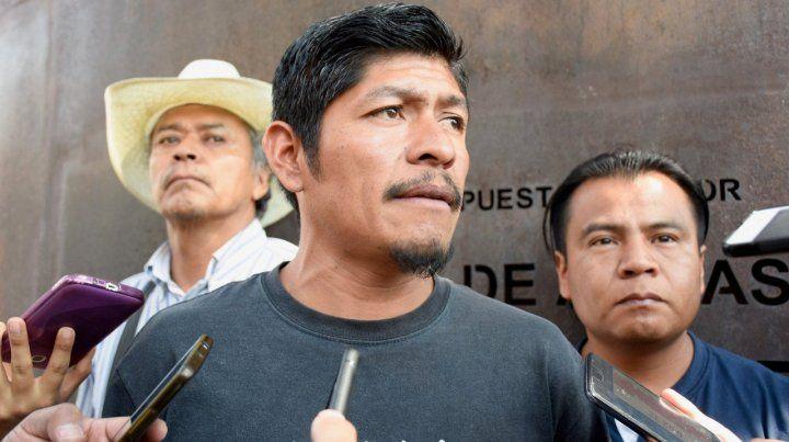 El presidente Andrés Manuel López Obrador condenó el asesinato de Samir Flores Soberanes(foto)