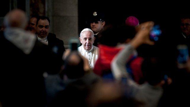 Francisco no se reunirá en privado con víctimas.