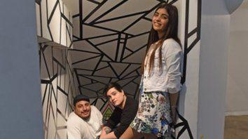 Elegidos. Amorina, Fede y Darío (de der. a izq.) afirmaron que hay que trabajar mucho para poder vivir de la música.