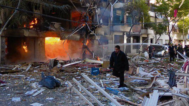 Tragedia. El 6 de agosto de 2013 se produjo la fatídica explosión.