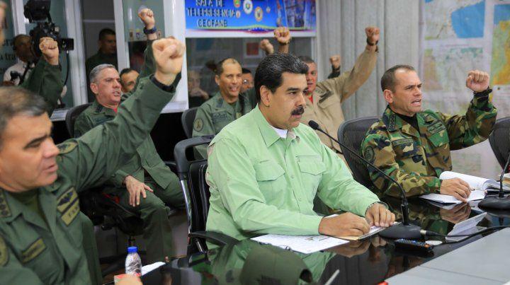 Maduro cerró por tiempo indefinido la frontera de Venezuela con Brasil