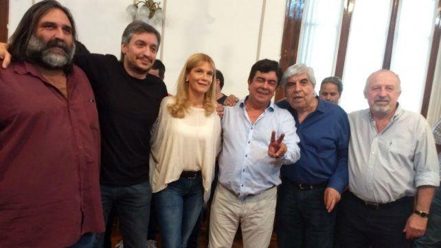 Muestras de unidad en el peronismo bonaerense