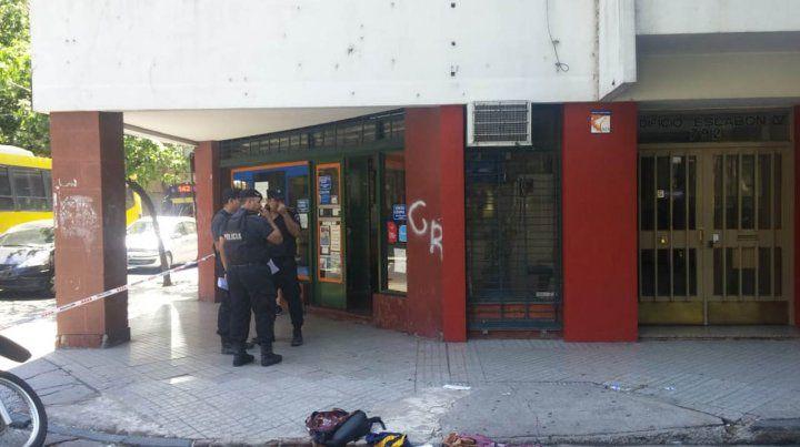 Balean al dueño de una agencia de loterías en 9 de Julio y Laprida