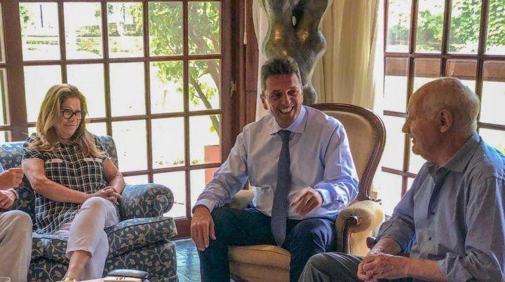 Massa y Lavagna analizaron la situación social y económica del país