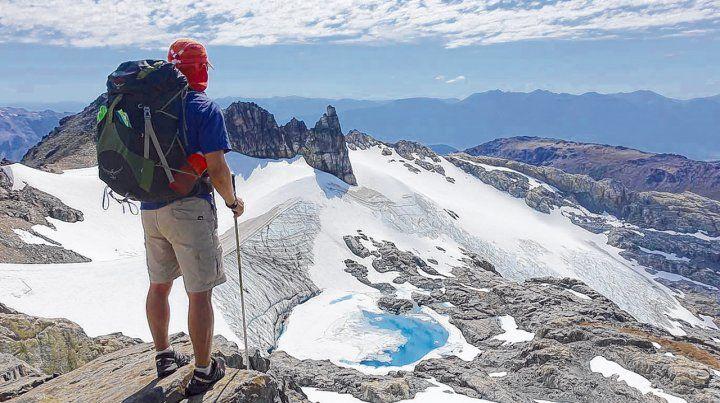 Equilibrio. La cordillera ofrece infinidad de experiencias inolvidables en la montaña