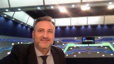 El periodista deportivo de Telefé Rosario, Marcelo Lewandoski, saltá a la política.