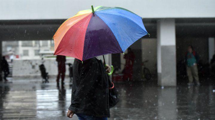 Rige un alerta por tormentas fuertes para el centro y sur de Santa Fe