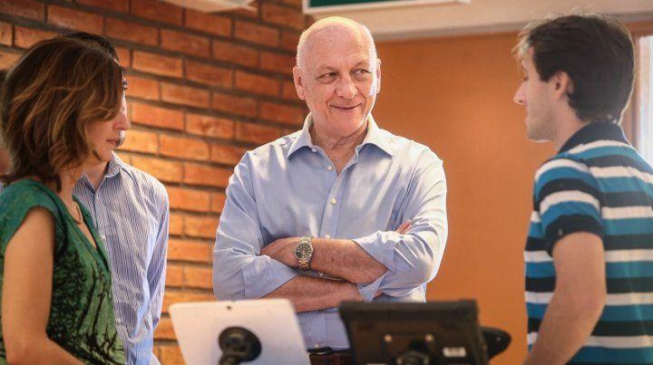 Bonfatti recorrió empresas del Parque Tecnológico Litoral Centro
