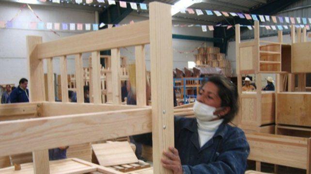 En baja. La industria de productos de madera y mueble fue uno de los que más perdió en enero