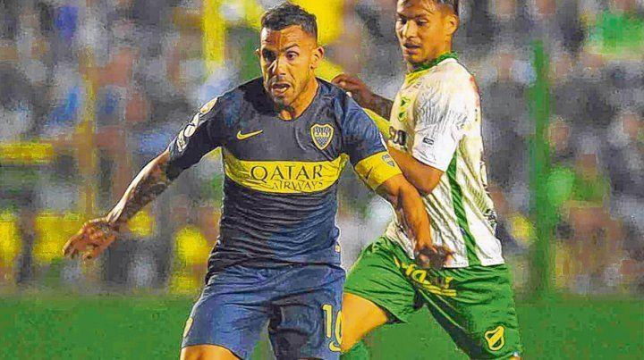 Fuerte Apache. Carlos Tevez marcó el único gol al inicio del complemento tras un primer tiempo en el que todo fue de Defensa.