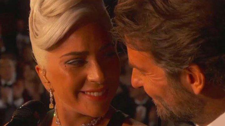 La química entre Lady Gaga y Bradley Cooper enamoró a todos