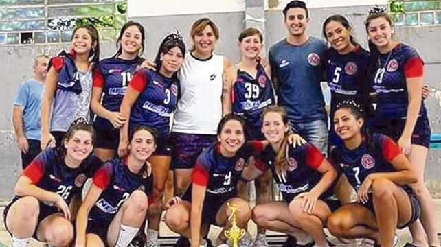 Charrúas deportistas. Equipo de handball subcampeón del Clausura 2018