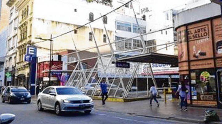 El lugar. El proyecto se haría en Corrientes y Córdoba.