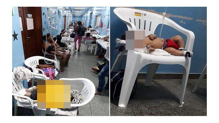 La fotografía original publicada en portales de la ciudad brasileña de Macapá.
