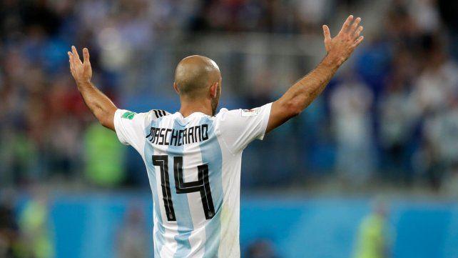 Tras la final con Alemania me hubiese ido con los laureles, dijo Mascherano