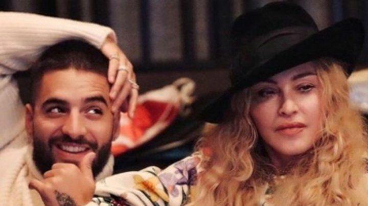 Madonna y Maluma graban juntos