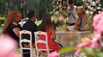 Rosario tuvo el número más bajo de bodas en lo que va del siglo