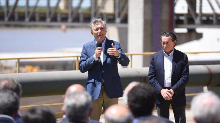 Macri anunció en Timbúes una línea de créditos por 100 mil millones de pesos para pymes