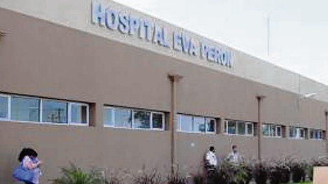 Hospital Eva Perón. La niña fue operada anteanoche.