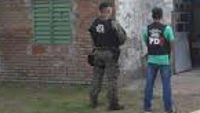 Policía de Investigaciones (PDI) secuestró varias vainas servidas.