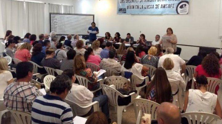 En la última convocatoria de Amsafe votaron 30.136 docentes santafesinos.