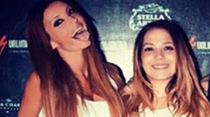 amigas. La modelo y conductora Natacha Jaitt y la cantante Lissa Vera compartieron muchos momentos.
