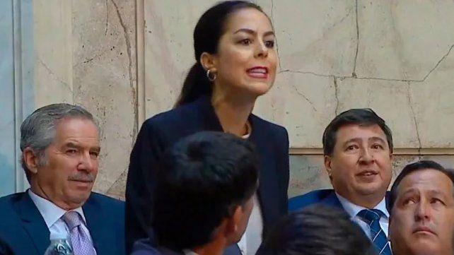 Quién es Joana Picetti, la mujer que interrumpió a Macri