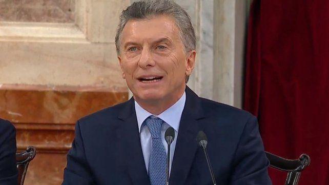 Macri: Los gritos y los insultos no hablan de mi, hablan de ustedes