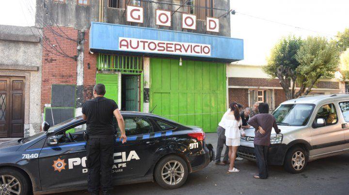 Atacado. El súper de Colombia 1100B donde ocurrió el intento de homicidio.