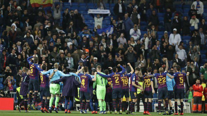Barcelona, la bestia negra del Real Madrid, volvió a ganar en el Bernabeu