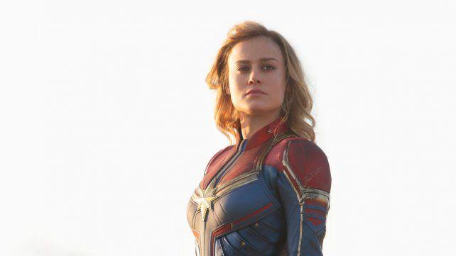 Líder. La película protagonizada por la ganadora del Oscar Brie Larson explora los orígenes de la Capitana Marvel