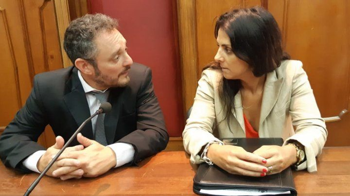 La acusación. Los fiscales Omar De Pedro y María Lucila Nuzzo investigaron los hechos.