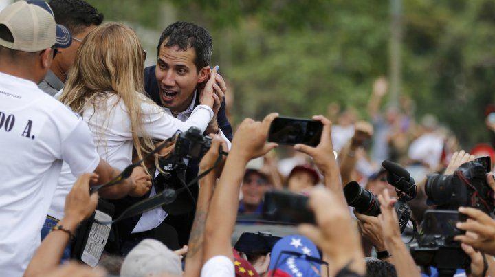Juan Guaidó regresó a Venezuela sin sobresaltos