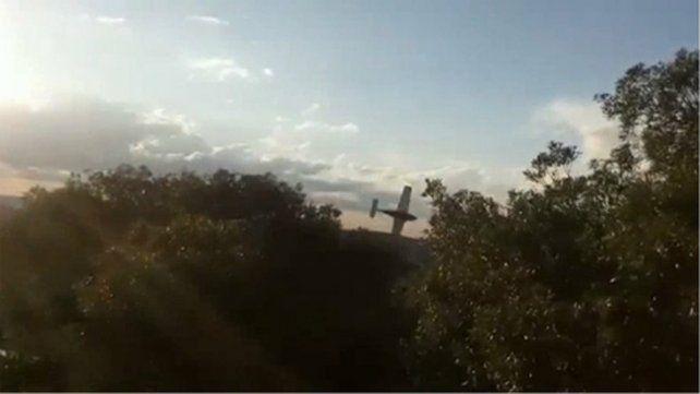 Un milagro. La aeronave cayó en La Cumbre y las mujeres sobrevivieron.
