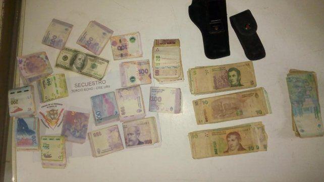 Cuatro detenidos por portación de armas en barrio Triángulo