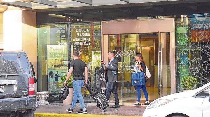 Visitantes. El fin de semana largo tuvo una variada agenda en torno al carnaval para quienes se acercaron a Rosario.