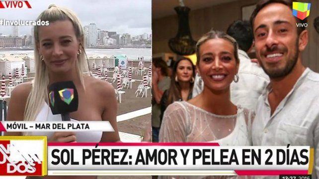 El chat que terminó con la relación entre Sol Pérez y su novio por dos días