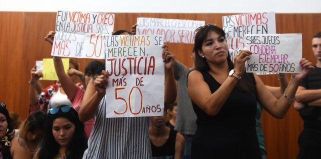 Para la fiscal, la condena al violador serial es proporcional al daño causado a las víctimas