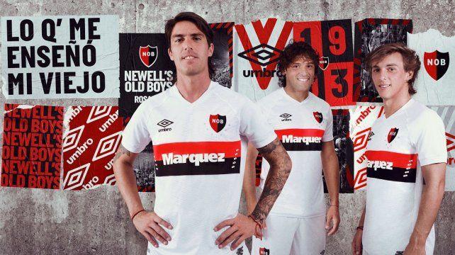 Newells presentó su nueva camiseta alternativa