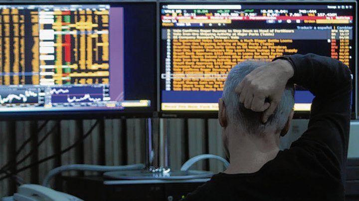 para el olvido. La Bolsa reflejó la incertidumbre de los inversores.