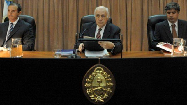 El juez Jorge Tassara.
