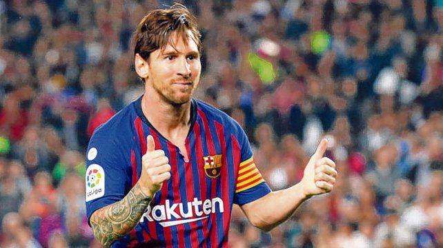 Todo okey. Lionel Messi brilla en Barcelona y tiene las puertas abiertas de par en par en la selección argentina. Lionel Scaloni lo necesita en la Copa América que se viene.