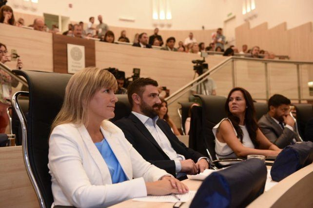 La concejal Verónica Irizar