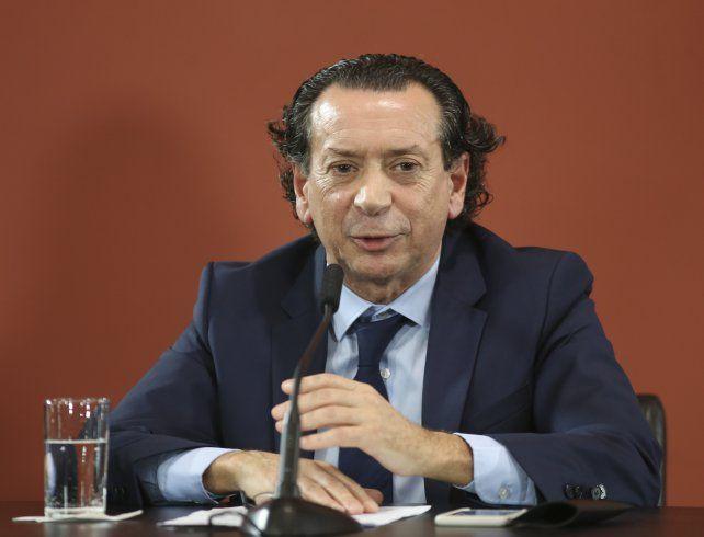 El ministro Dante Sica.