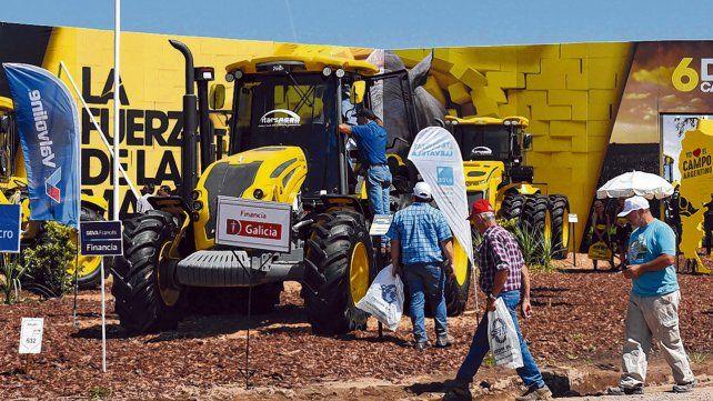 Expectativa. Las empresas de maquinaria llegarán con una variada oferta a Expoagro para captar la atención del productor.