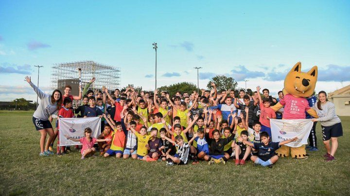 La antorcha de los Juegos Suramericanos de Playa llegó a Rosario
