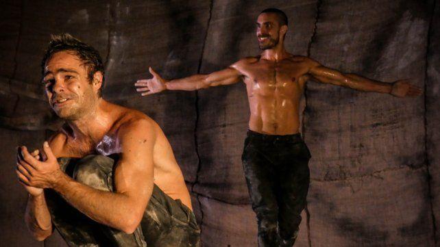 Una apuesta diferente. Lanzani y Germán Cabanas protagonizan la puesta dirigida por el francés Redha Benteifour.