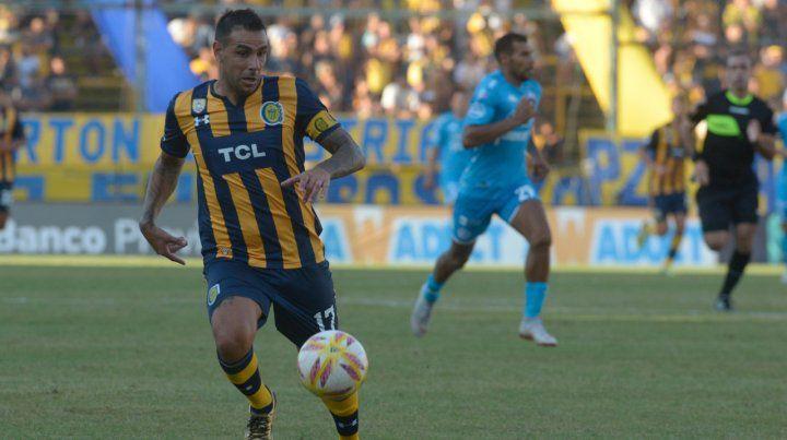 La carta de gol. Germán Herrera siempre da la cara en las difíciles y hoy tiene otra oportunidad para ayudar a Central.